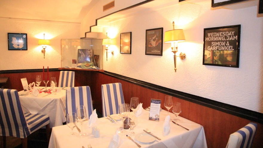 Hamburger Küche im Restaurant \