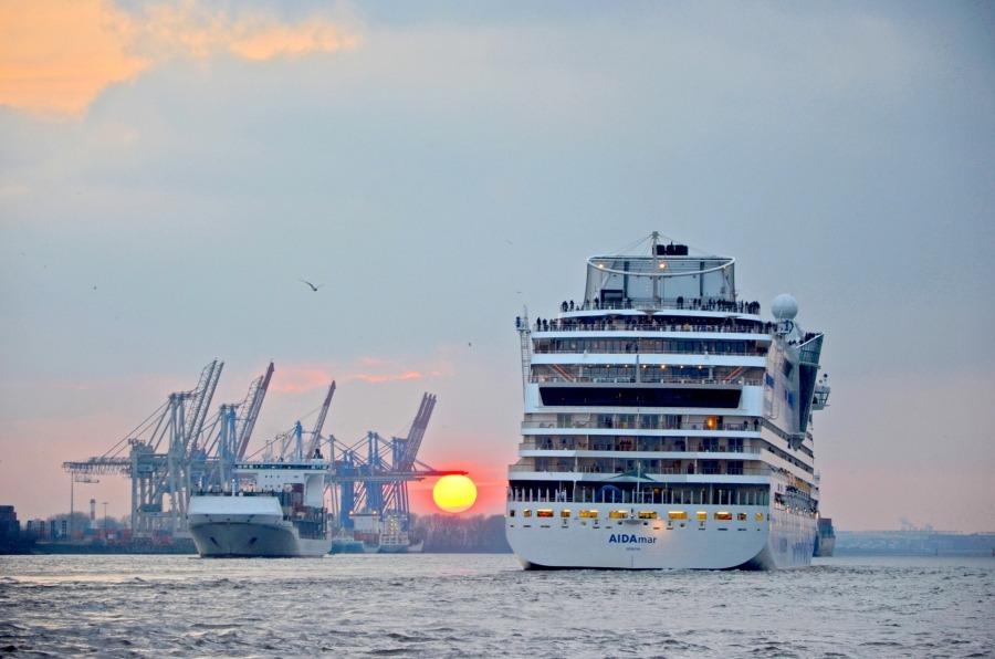 Hamburg Schiffsankünfte 2021